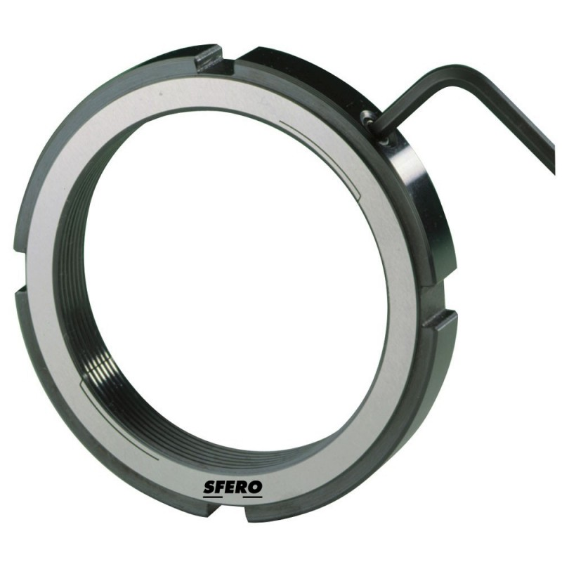 Ecrous de  serrage radial LRE19